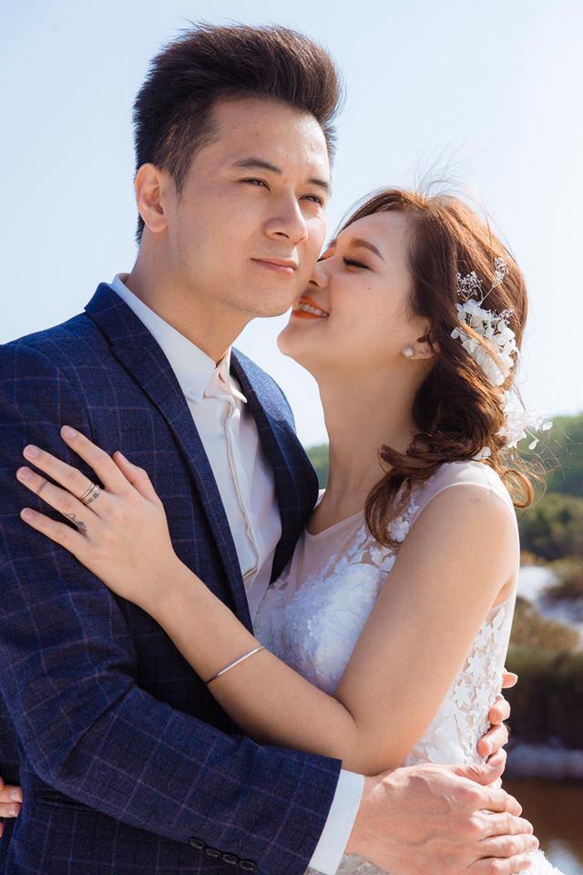 Vợ chồng Thu Hương - Văn Tuấn cực kỳ xứng đôi vừa lứa.