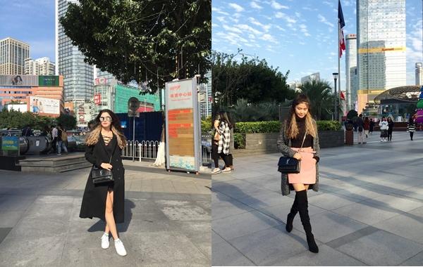 Sành điệu, nổi bật trên đường phố Quảng Châu