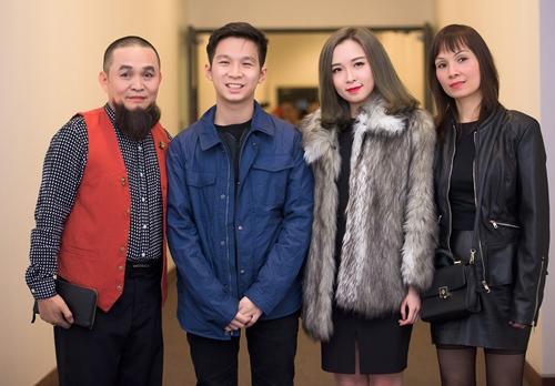 Gia đình nghệ sĩ hài Xuân Hinh.
