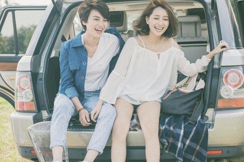 BTV Quỳnh Chi và BTV Thùy Dung là những người bạn thân thiết ngoài đời.