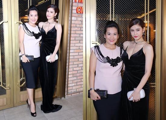 Vợ Bình Minh từng hội ngộ Trương Quỳnh Anh tại một sự kiện giải trí.