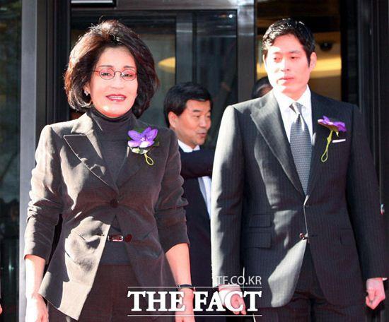 Bà Lee Myung-hee.