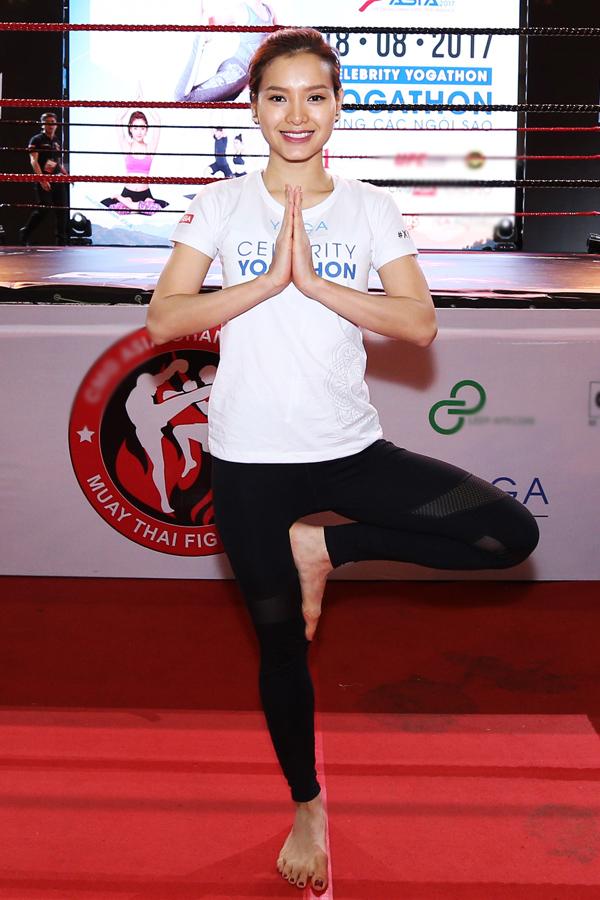 Ca sĩ - diễn viên Phương Trinh Jolie là một trong hai khách mời nghệ sĩ dự sự kiện sáng nay.