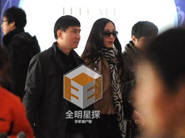 Hàn Tuyết và chồng đại gia
