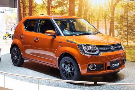 Mẫu crossover cỡ nhỏ Suzuki Ignis 2017