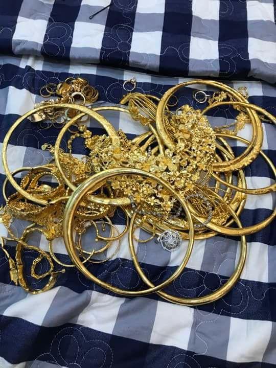 Số vàng cưới có giá trị lên tới 1 tỷ đồng.