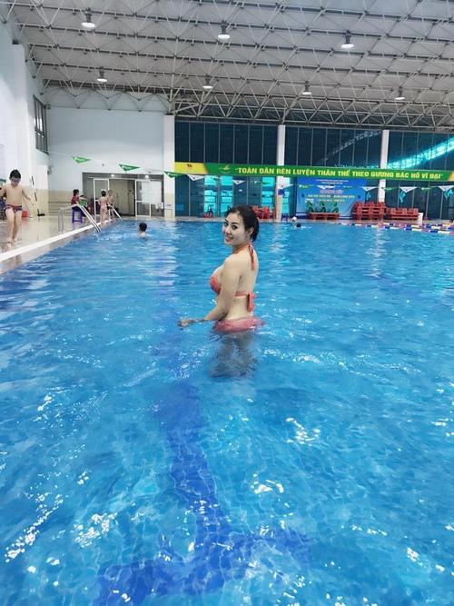 Nữ diễn viên yêu thích chơi thể thao, tập gym, bơi lội,...