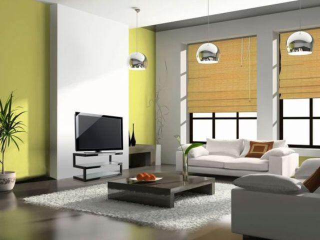 Mành rèm tre được sử dụng phổ biến trong phòng khách Nhật.