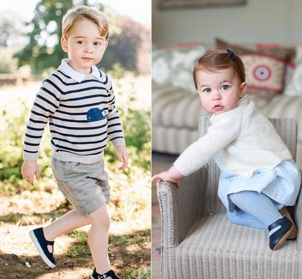 Sự có mặt của hoàng tử George và công chúa Charlotte là tâm điểm chú ý của đám cưới Pippa Middleton và James Matthews.