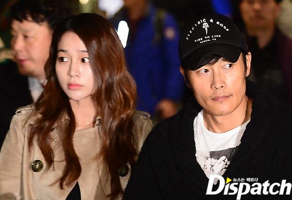 Lee Byung Hun may mắn có được cô vợ bao dung