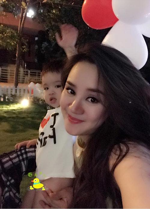 Vy Oanh hiện mang bầu lần 2 hơn 8 tháng, cô sẽ sinh con trong thời gian tới