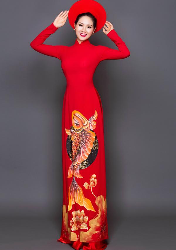 Hoa hậu Việt Nam 2002 giữ được vóc dáng thon thả dù đã có hai con.