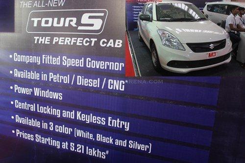 Tại thị trường Ấn Độ, Suzuki Tour S có mức giá khoảng INR 521.846 (186 triệu đồng), trong khi biến thể máy diesel LDi có giá cao hơn – INR 624.185 (222 triệu đồng).