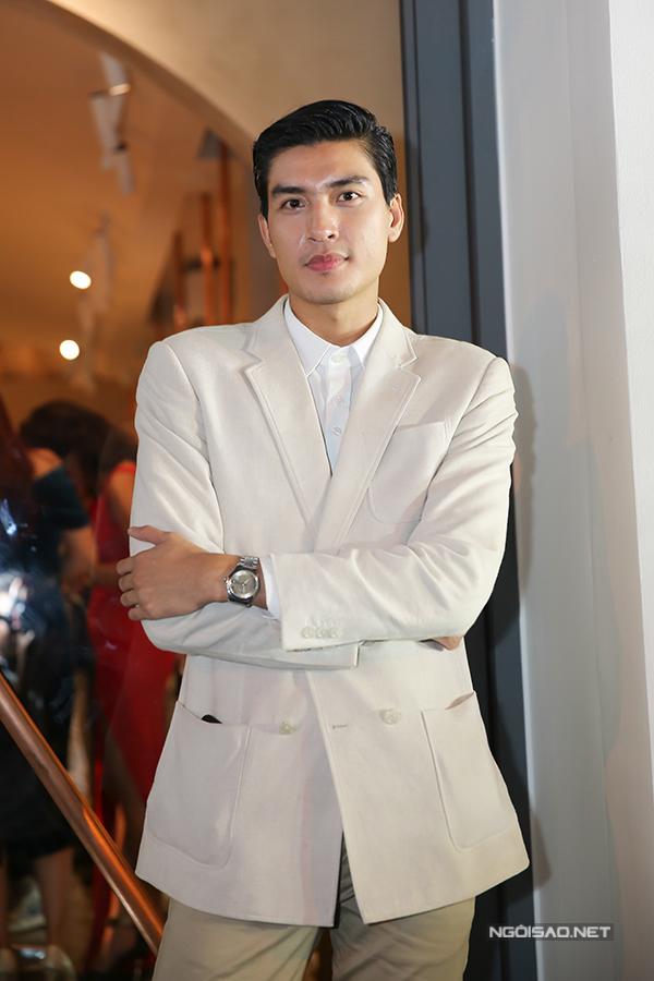 Người mẫu Quang Đại.