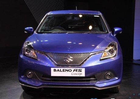 Mẫu Suzuki Baleno RS là phiên bản thể thao cho đối tượng là thanh niên.