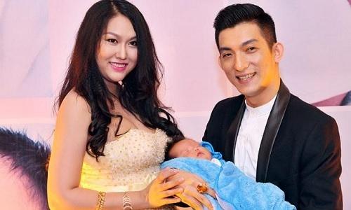 Phi Thanh Vân thời còn mặn nồng với chồng cũ Bảo Duy.