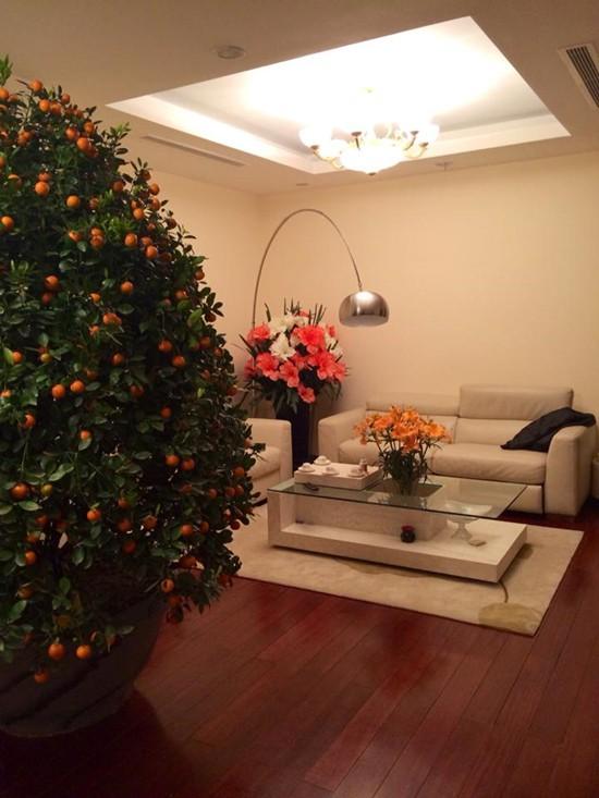 Không khó nhận thấy căn hộ này có view đẹp, thiết kế hiện đại và tông màu trang nhã.