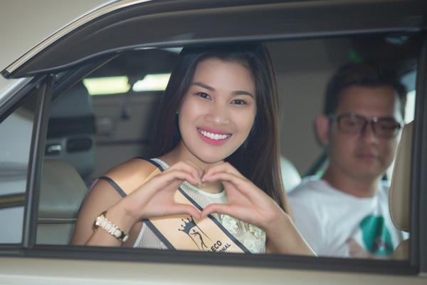 Nguyễn Thị Thành vui vì còn nhiều bạn bè, khán giả ủng hộ, động viên cô vượt qua những khó khăn trong cuộc sống.