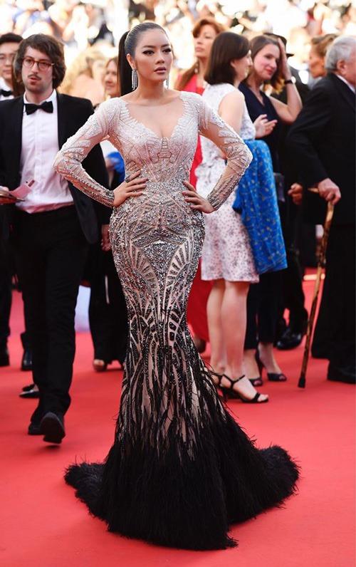 Lý Nhã Kỳ là đại diện Việt Nam ấn tượng nhất trên thảm đỏ LHP Cannes 2017 vừa qua.
