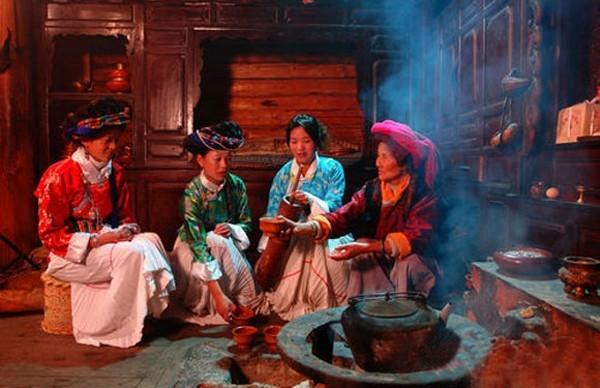 Người Mosuo coi gia đình là điều quan trọng.
