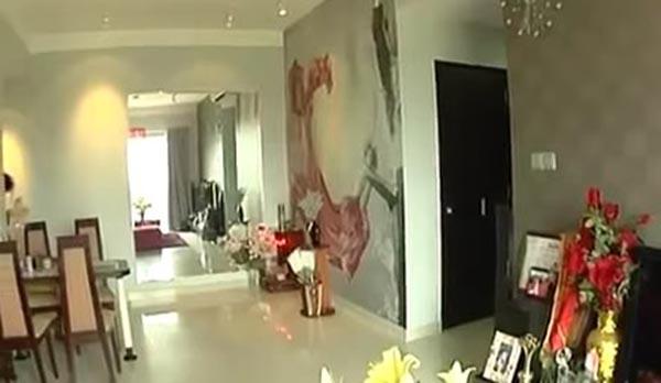Trong một chương trình giao lưu năm 2011, Thanh Hằng đã tự tin khoe việc mình sở hữu căn hộ đầy đủ các tiện nghi hiện đại.