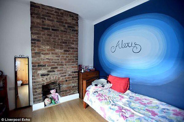 Những không gian riêng tư của hai cô con gái nhỏ cũng được trang trí tỉ mẩn