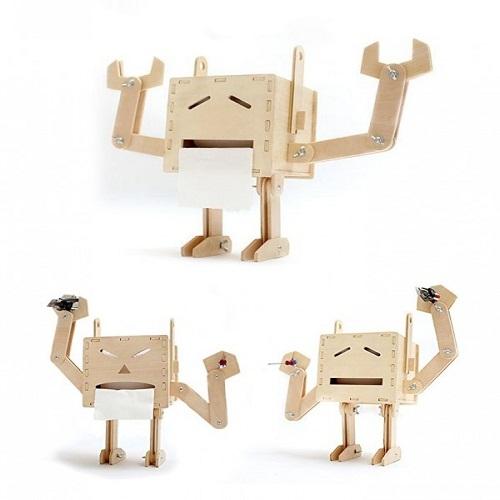 Những chú robot đa cảm xúc và thân thiện với môi trường.