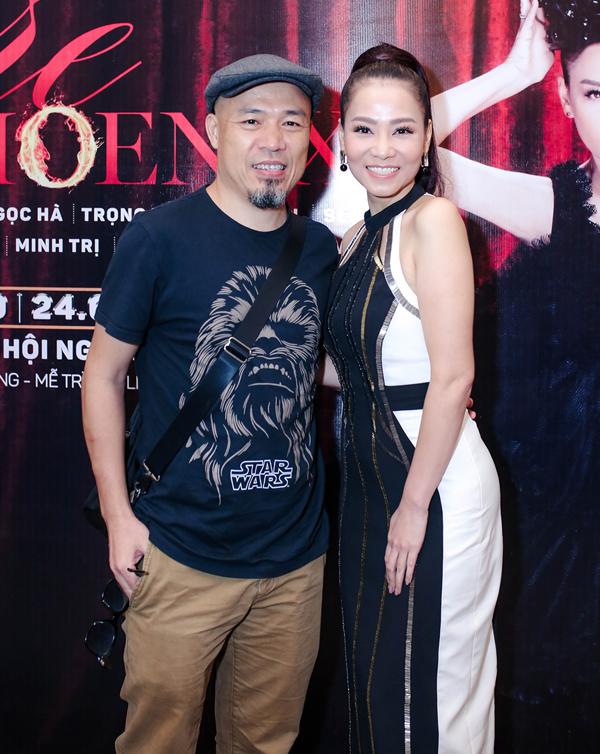 Nhạc sĩ Huy Tuấn từng gắn bó với nữ ca sĩ tại Vietnam Idol.