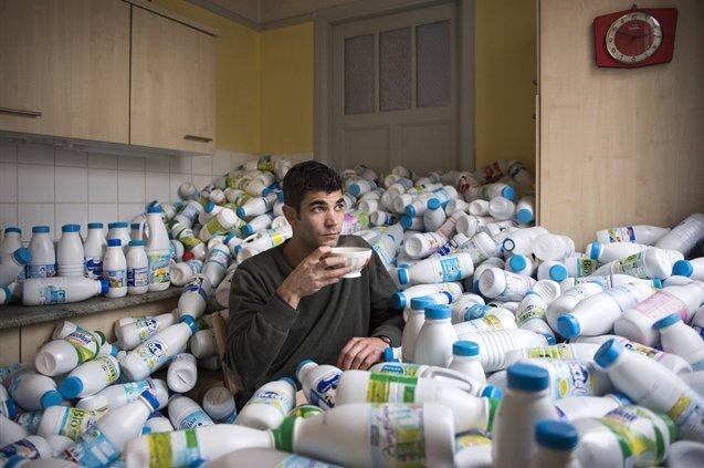 Antoine đã lấy cảm hứng từ chính thói quen nghiện sử dụng đồ đông lạnh của mình.