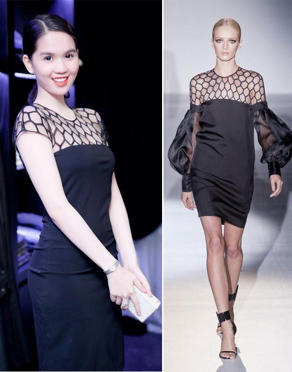 Không chỉ copy các thiết kế nổi bật của những nhà mốt thế giới mà cô còn biến tấu để trang phục này phù hợp với thị hiếu người Việt Nam. Tuy nhiên, dù như thế nào thì vấn đề đạo nhái cũng đang trở thành bước cản lớn đến sự phát triển của nền công nghiệp thời trang như hiện nay.
