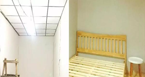 Tất cả các đồ nội thất đều được thay mới. Markus sắm thêm một chiếc giường nhỏ kê sát góc tường.
