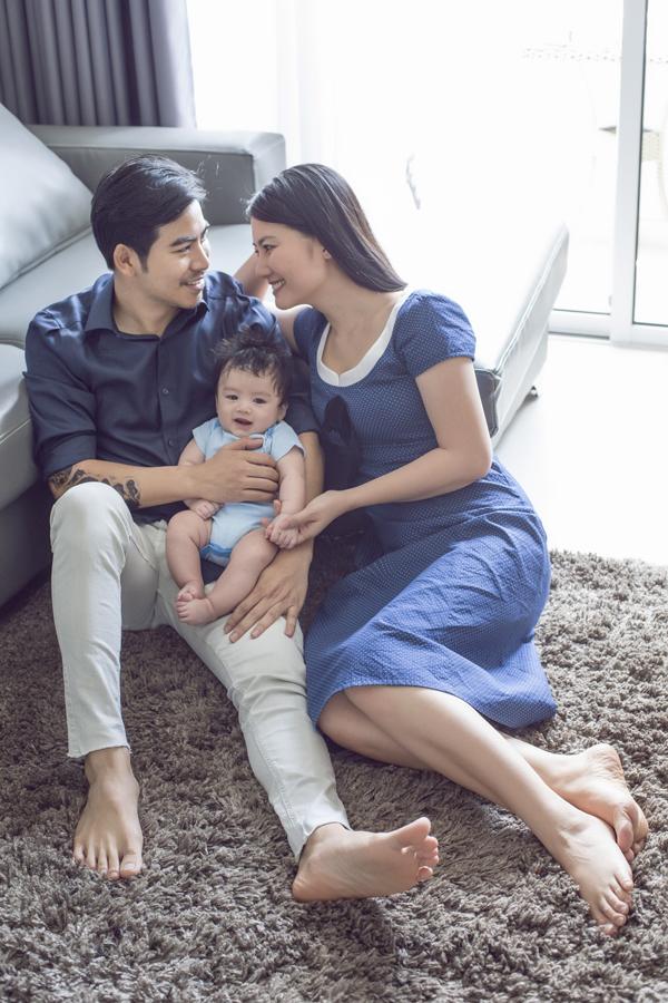 Vợ chồng Ngọc Lan - Thanh Bìnhdự định đưa bé Phôi đi chơi nhân dịp 1/6 để cả nhà cùng thư giãn, vui vẻ.