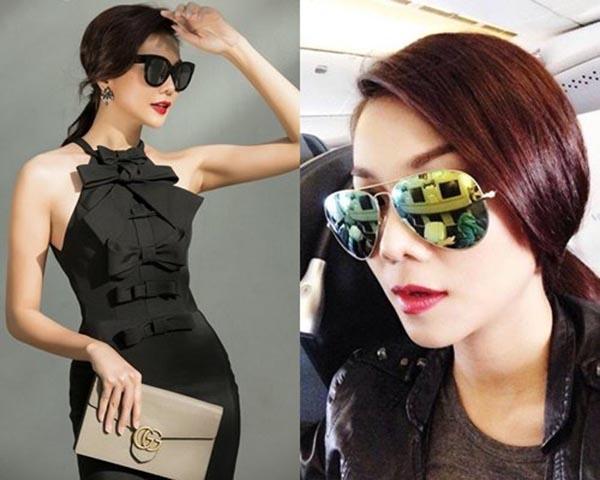 Không dừng lại ở xe hơi, nhà lầu, Thanh Hằng còn sở hữu bộ sưu tập hàng hiệu gồm trang phục, phụ kiện của các thương hiệu đắt đỏ, nổi tiếng thế giới.