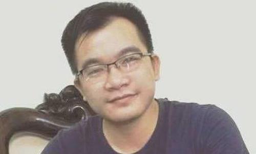 Phóng viên Đinh Hữu Dư trước khi gặp nạn ở Yên Bái.
