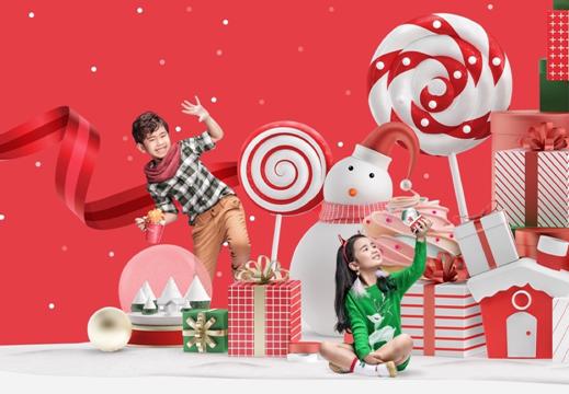 Gấu bông, quà cầu tuyết, hộp nhạc ngựa gỗ, cốc tuần lộc… – những món quà Giáng sinh dễ thương được Vincom chuẩn bị dành tặng khách hàng thân yêu