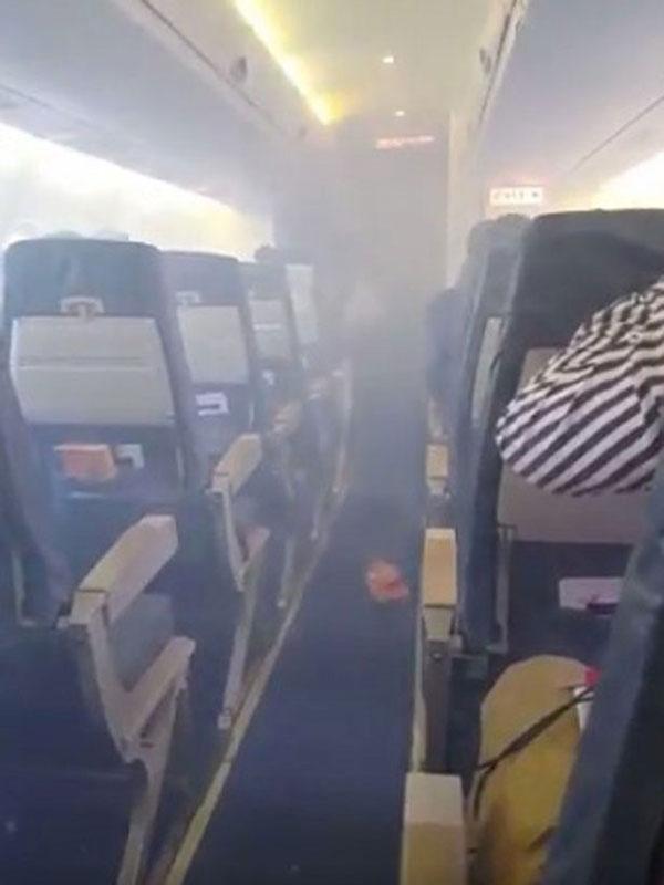 Chuyến bay gây hoang mang cực độ cho nhiều hành khách.