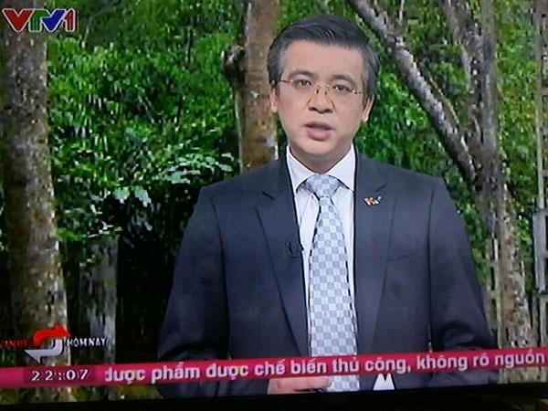 Là một người chịu khó tìm tòi và yêu nghề, BTV Quang Minh đã đem đến cho khán giả một chương trình thời sự chính luận có nhiều thông tin bổ ích.