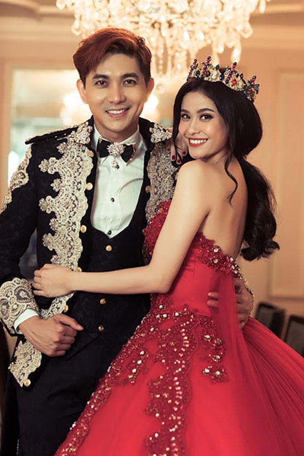 Cặp đôi Tim - Trương Quỳnh Anh đã hạnh phúc trong 7 năm đầy sóng gió.