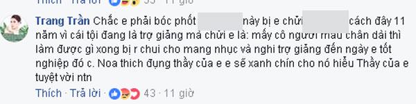 Trang Trần dọa bóc phốt vợ Xuân Bắc để minh oan cho thầy.