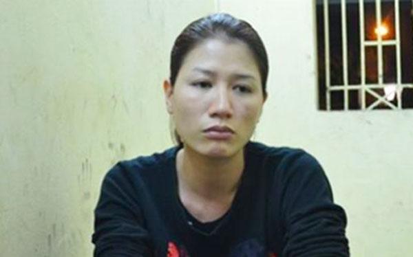 Trang Trần bị tạm giam vì chống người thi hành công vụ.