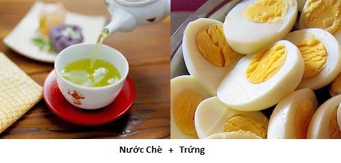 Trứng nhất định phải kiêng ăn cùng những thực phẩm này
