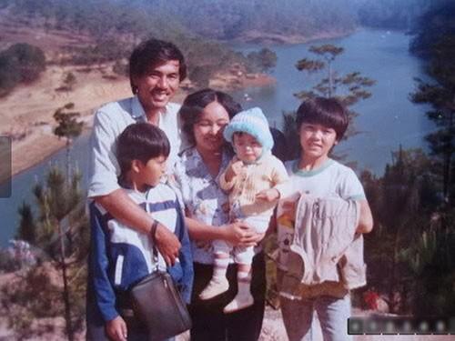 Tăng Thanh Hà bên gia đình hồi nhỏ