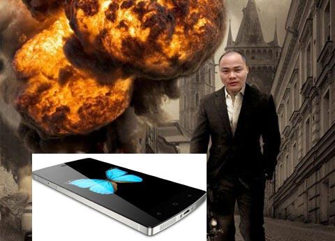 Một bức ảnh chế về anh Nguyễn Tử Quảng - CEO của tập đoàn Bkav