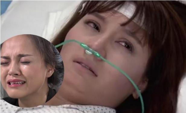 Vân gặng hỏi sự thật khi Trang dàn dụa nước mắt vì thương cô.