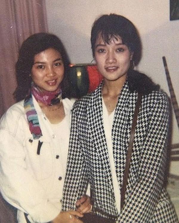 Vân Dung thi Hoa hậu Việt Nam 1992.