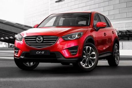 Mazda CX-5. Ảnh: Văn Xuyên/BNEWS/TTXVN
