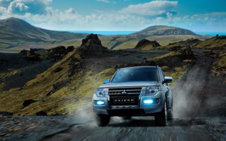 Mẫu xe Pajero có giá cao nhất trong gia đình Mitsubishi tại Việt Nam. Ảnh: Mitsubishi