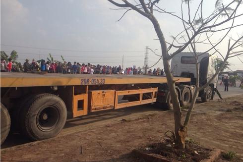 Nạn nhân Phong được phát hiện đã tử vong trên xe vứt ven đường
