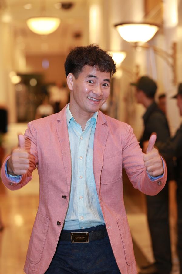 Nghệ sĩ Xuân Bắc cũng có mặt trong chương trình để ủng hộ người bạn lâu năm.