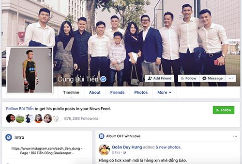 Người dùng mạng xã hội có thể dễ dàng nhận ra Facebook chính chủ nhờ dấu tích xanh.